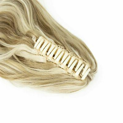 Synthetic Clip In Tail Hair On Ponytail Hair
