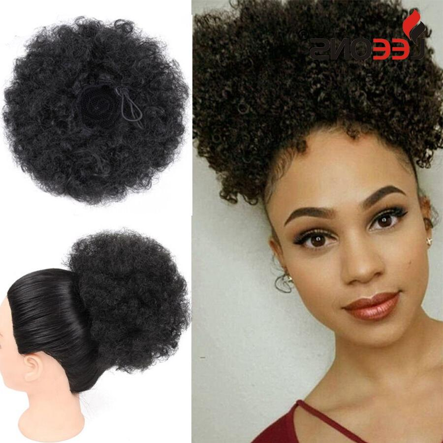synthetic drawstring ponytail puff kinky font b