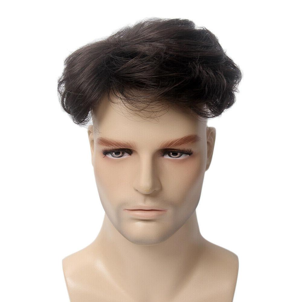 Toupee Hair System with Clip 6''x5''