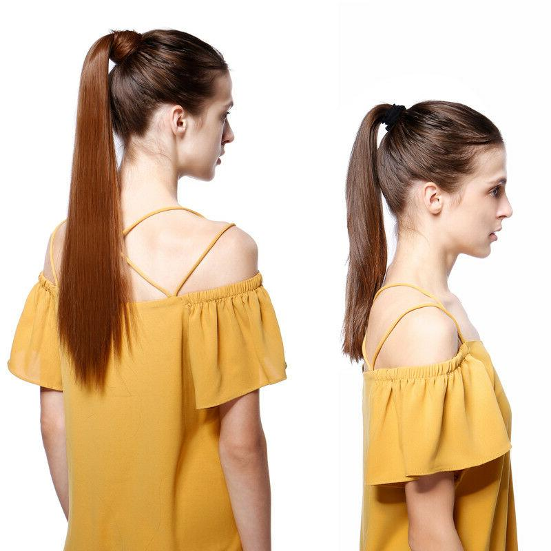 US Clip Extension Pony Tail Ponytail as humans