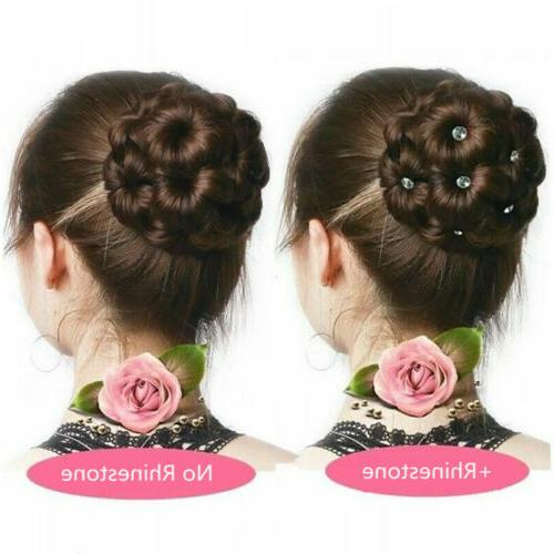 Clip Hair Extension Chignon Hairpiece Wig New