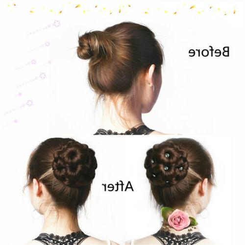 Women Clip Comb Hair Extension Hairpiece New