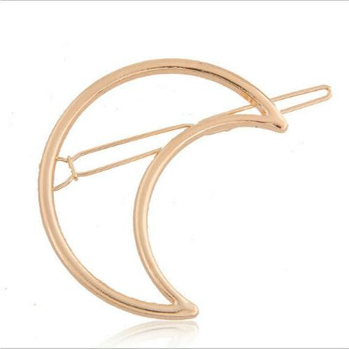 Women Geometric Hair Barrettes Pins Clip Fastening