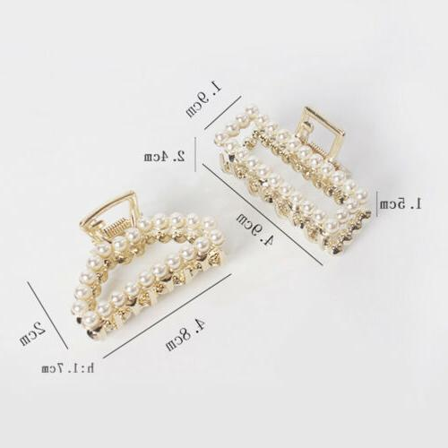 Women Mini Accessories Hair Claw Fashion Crystal