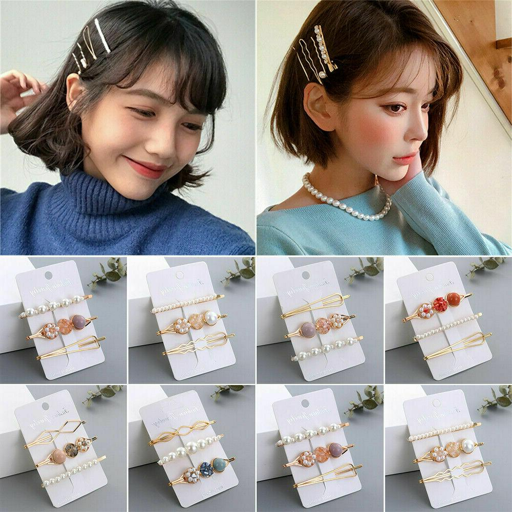 Women's Clip Slide Grips Barrette Accessories