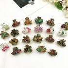 Women Vintage Metal Butterfly Small Mini Hair Clip Claw Clam