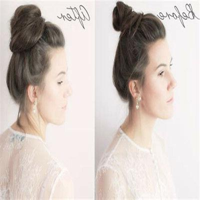 Women Wrap Synthetic Curly Hair Hair Bun Ponytail