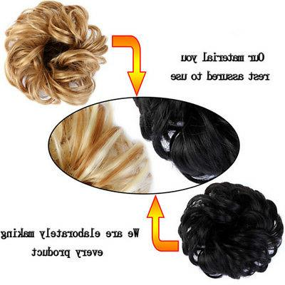 Women Clip Synthetic Hair Hair For Ponytail
