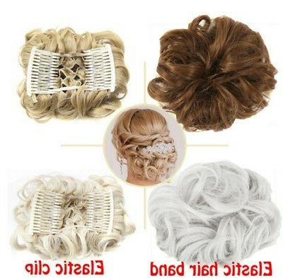 Women Brown Synthetic Hair Hair For Ponytail