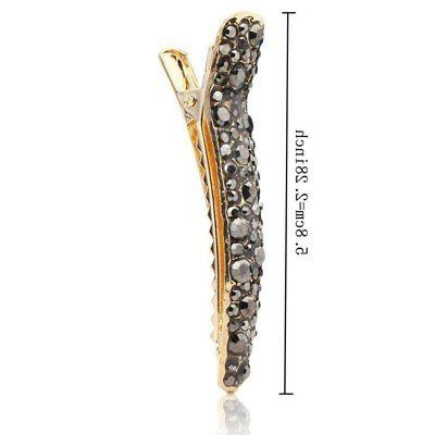 Womens Alligator Hair Clips Accessory Duckbill
