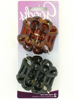 GOODY LARGE CLAW HAIR CLIPS - 2 PCS.