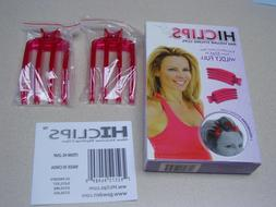 HiClips Max Volume Styling Hair Clips 2 Packages of 2 ea  NE