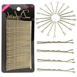 Dofash Metal Bobby Pins Black Hair Clips grips for Hair Deco