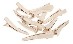 L. Erickson Mini Metal Pinch Clip & Go 12-Pack - Ivory
