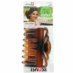 Scunci No Slip Crown Clip For Thick Hair Colors May Vary