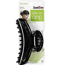 SCUNCI - No Slip Grip All Day Hold Hair Claw Clip Jaw for Th