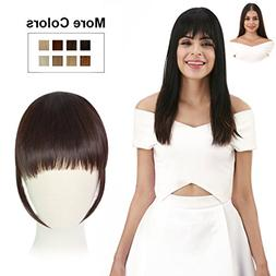 REECHO Fashion One Piece Clip in Hair Bangs/Fringe/Hair Exte