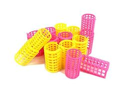 Plastic DIY Grip Cling Hair Roller Curler Clips Hair Styling