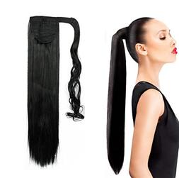 Ponytail Wrap Around Synthetic Clip in Hair Extensions One P
