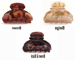 Premium French Claw Clip Large 3 Inch Quality Tortoise Shell