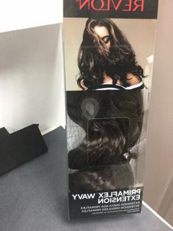 "REVLON PRIMAFLEX WAVY 18"" HD Clip-in Hair Extension, Dark Br"