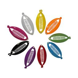 Round Mini Banana Clips Great Colors Banana Clips For Hair G