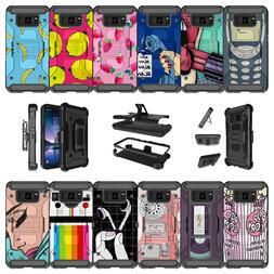 For Samsung Galaxy S8 Active SM-G892A Shockproof Clip Kickst