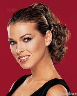 """Short 8"""" Wavy Clip In - Synthetic Hair Piece - Tease Parti -"""