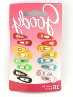 GOODY SNAP HAIR CLIPS - 16 PCS.