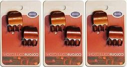 Goody Stayput Hold Colour Collection Quarter Claw Clips, Red