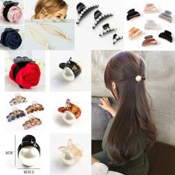 women pearl mini hair accessories hair claw