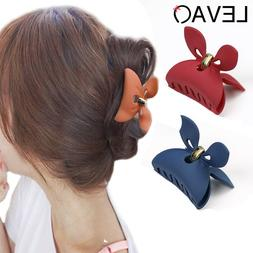 Women's Girl Hair Pins Chic Claw Butterfly Hair Clips Clamps