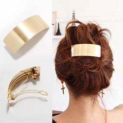 Women's Metal Hair Clips Hairpin Hair Pins Barrette Ponytail